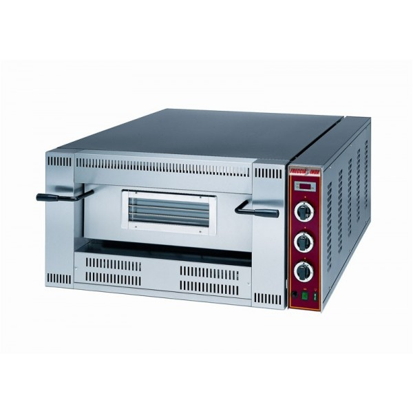 Forno pizza a gas 6x36 cm pizze orizzontale