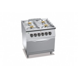 Cucina a gas 4 fuochi Kw 20 serie Exclusive 700